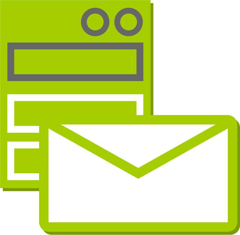 Email services available with Exchange Server options