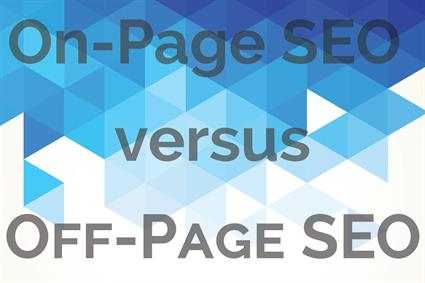Difference Between On-Page versus Off-Page SEO