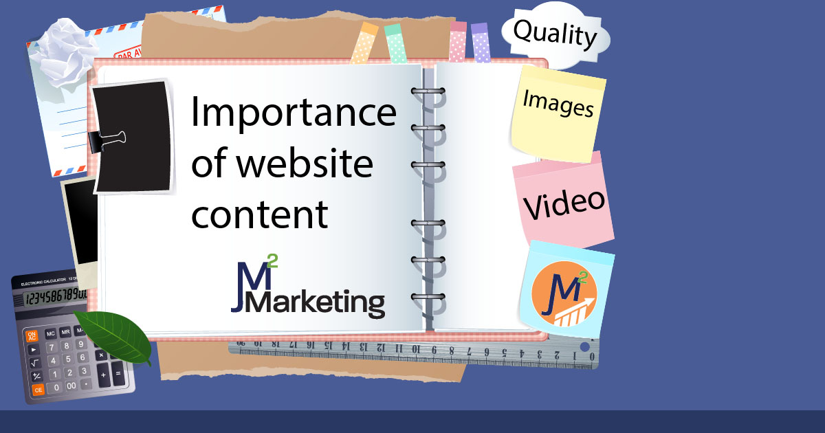 Importance of website content