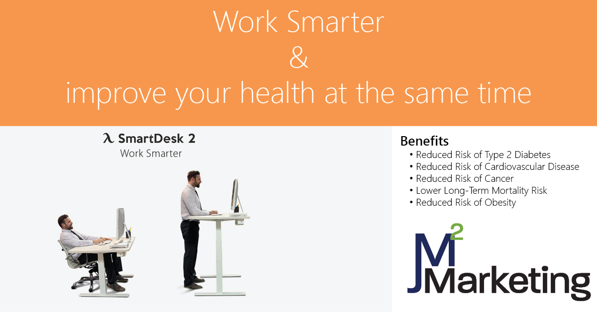 The benefits of a standing desk