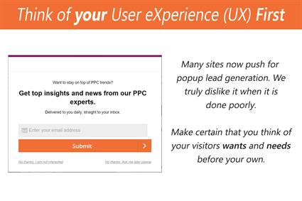 Improving your SEO and your User Experience