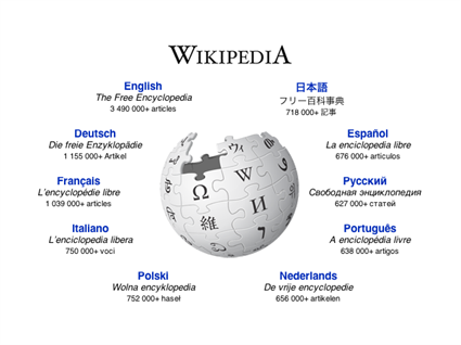 How can a business use a wiki page?