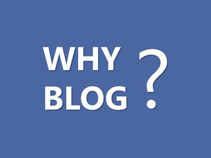 Why your business needs a blog!